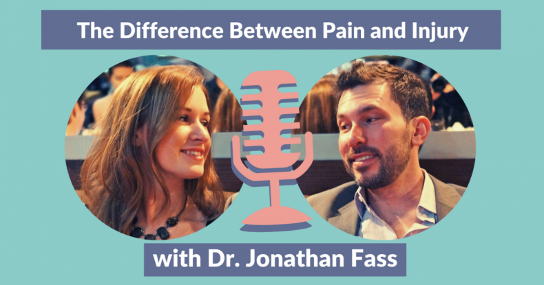 The difference between pain and injury (thumbnail with Jonathan Fass and Marianne Kane)