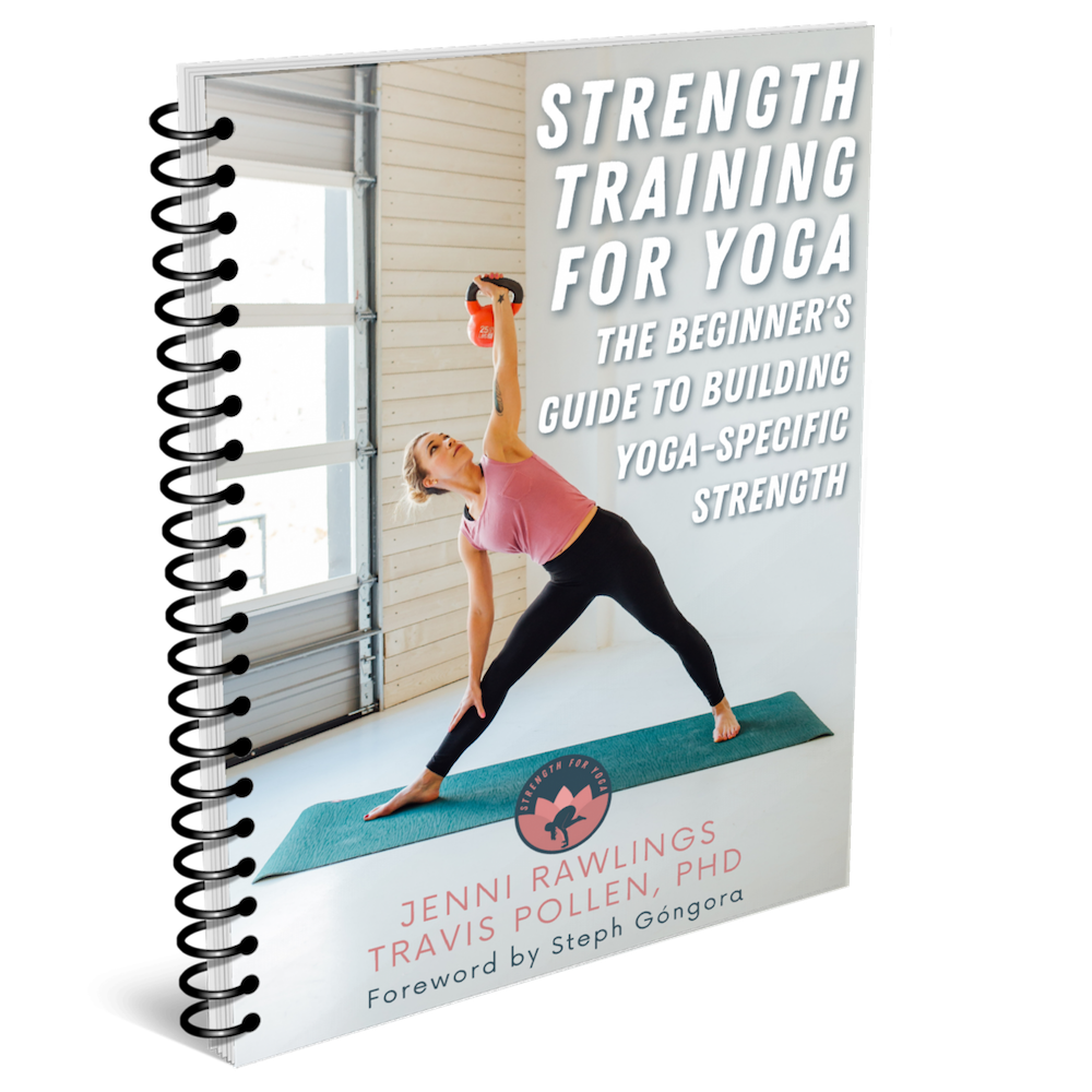 Strength for Yoga bookcover mock-up