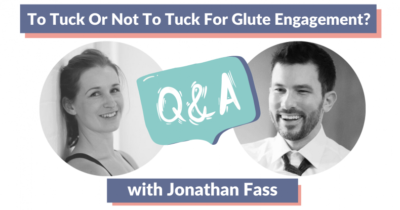 Thumbnail of co-hosts Marianne Kane and Jonathan Fass for the episode To Tuck or Not To Tuck