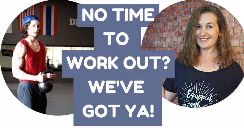 NO TIME TO WORK OUT Efficient and Effective Workouts with Pat Flynn